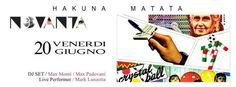Fine settimana anni 90 all'Hakuna Matata Riccione.