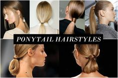 Low ponytail hairstyles  http://www.thevandallist.com/low-ponytail-hairstyles/