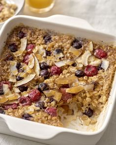 Healthy Baked Oatmeal: The Easiest Make-Ahead Method — Cooking Lessons from The Kitchn #recipes #food #kitchen
