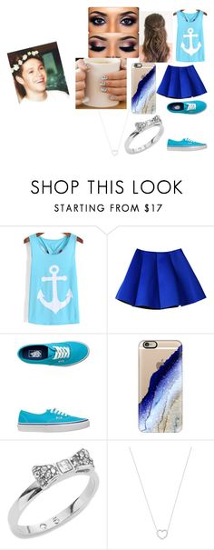 """""""A date with Niall Horan"""" by adara-omgg-laceup on Polyvore featuring beauty, Vans, Casetify, Kate Spade and Tiffany & Co."""