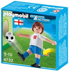PLAYMOBIL 4732 – Fußballspieler England | Your #1 Source for Toys and Games