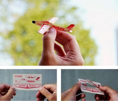 air plane buisness card! check out the rest of these awesome business cards