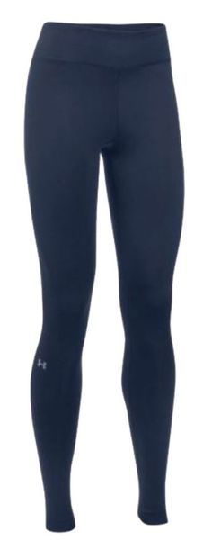 Under Armour Women's ColdGear Authentic Leggings (Black or Navy) 1250277