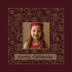 gouden patroon - Kerstkaarten - Kaartje2go