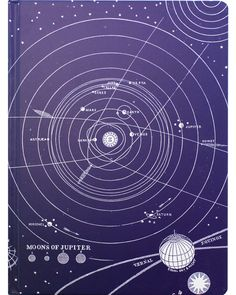 The universe is mysterious, beautiful, and vast – just like our Solar System sketchbookwith plenty of room for hypothesizing. Spangling stars and asteroids, orbits and planets – all drawn in crisp whitelines on a royal purple background. Take this huge sketchbookalong to the field or the observatory or give it as a token of your esteem – a dose of encouragement and a reminder that the sky is not the limit. Our Vintage Notebook line features classic illustrations from early scientific…