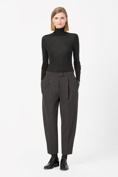 COS | Pleated seam trousers