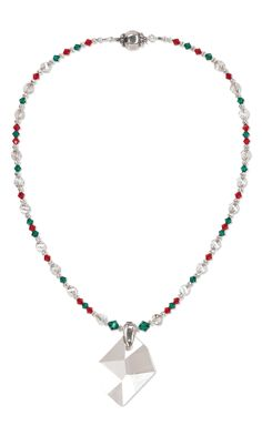 Jewelry Design - Single-Strand Necklace with Swarovski Crystal - Fire Mountain Gems and Beads