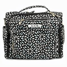 I have to have it!!! OMG  Ju Ju Be BFF Diaper Bag - Platinum Petals - Diaper Bags at Hayneedle
