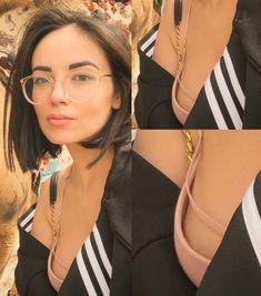 Agathe Auproux doing a nip slip Cat Eye, Glasses, Style, Fashion, Eyewear, Swag, Moda, Stylus, Fashion Styles