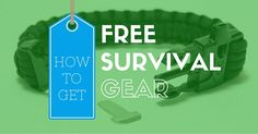 FREE Survival Gear get the best Free Survival Gadgets    //  Disaster Preparedness    J5 Tactical Flashlight     This J5 Tactical Flashlight is a great addition to your bug out bag. A good light can be used in time of distress or to locate or signal if you become lost or stranded.