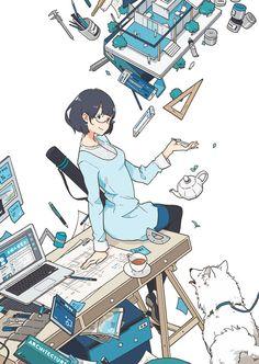 Character Inspiration, Character Art, Character Design, Manga Art, Manga Anime, Desu Desu, Super Heroine, Illustration Art, Illustrations