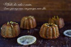 Marmita: Bolinhos de limão e caramelo