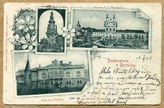 BUCZACZ - Pozdrowienia z Buczacza - 1901 - secesja