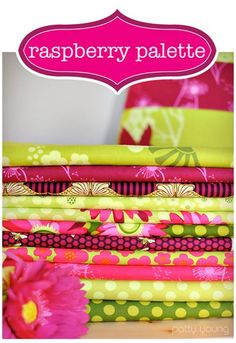 Diff color scheme altogether but loving this raspberry palette Tissu Michael Miller, Michael Miller Fabric, Sewing Blogs, Patch Quilt, Fabric Storage, Inspiration For Kids, Fabulous Fabrics, Fabric Online, Fabric Design