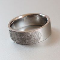 Custom made titanium ring manufacturers in South Africa Fingerprint Ring, Titanium Rings, Wedding Bands, Rings For Men, Engagement Rings, Jewelry, Enagement Rings, Men Rings, Bijoux