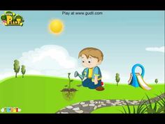 Learn an interesting educational lesson with games to teach and test kids knowledge of plants and plant-growth. To play similar games visit at www.gudli.com
