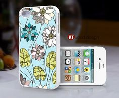 Case for Hard case Rubber case iphone 4 case iphone by Atwoodting, $6.99