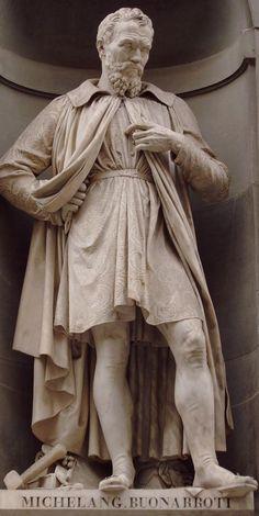 Michelangelo (Buonarroti), Renaissance Genius, painter, sculptor, architect and more. Michelangelo Sculpture, Roman Sculpture, Art Sculpture, Stone Sculpture, Famous Sculptures, Sand Sculptures, Italian Renaissance, Renaissance Art, Art Ninja