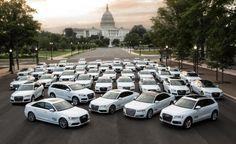 A lot of Audis