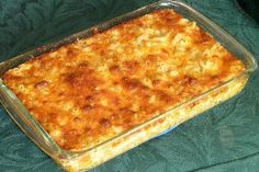 Yummiest Ever Baked Mac and Cheese Ingredients: 1 lb elbow macaroni 2 (10 3/4 ounce) cans cheddar cheese soup 2 (12 ounce) cans evaporated milk 5/8 cup butter (1 1/4 sticks) 1 teaspoon salt 1 teaspoon...