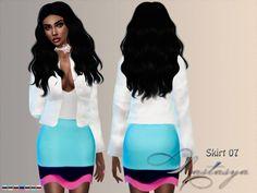 Skirt 07 at Nastasya94 • Sims 4 Updates
