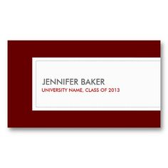 21 best business cards for college and university students images on universitycollege student deep red business card templates friedricerecipe
