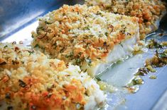 Fish Recipes, Healthy Recipes, How To Cook Fish, Sustainable Food, Mediterranean Dishes, Fish Dishes, I Love Food, Soul Food, Buffet