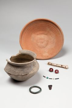 Finds from a Frankish girl grave of the 6th century  from Cologne-Worringen Romano-Germanic Museum in Cologne | Permanent collection