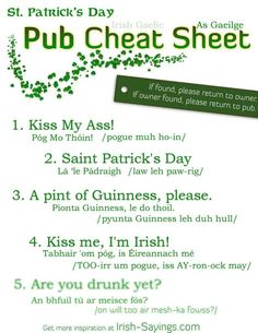 Famous Irish Quotes In Gaelic St. Irish Toast Funny, Funny Irish, Irish Quotes, Irish Sayings, Gaelic Quotes, Immigration Quebec, Irish Toasts, Gaelic Words, Irish American
