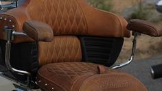 2015 Indian Roadmaster Red & Ivory Cream Motorcycle : Overview