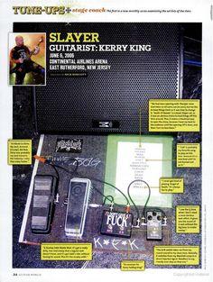 #KerryKing (#Slayer) Pedalboard