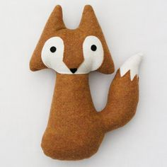stuffed animal - woodland fox via Etsy