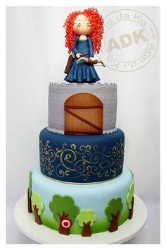 Brave Cake Made By Arte De Ka  cakepins.com