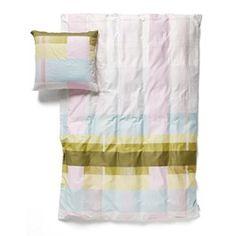 Hay sengetøj - color block green