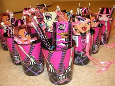 Photo 1 of 44: Monster High Spa Birthday Party / Birthday Hayley Turns Eight: Monster High Party   Catch My Party