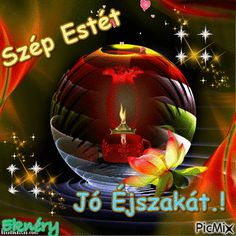 Jó Éjszakát.! Retro Hits, Good Night Greetings, Good Morning Good Night, Christmas Bulbs, Happy Birthday, Holiday Decor, Pictures, Happy Brithday, Photos
