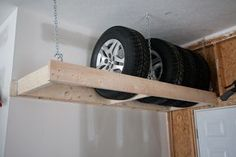 tire rack for garage - Google Search