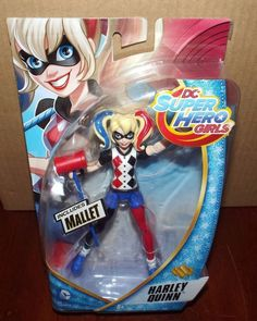 DC Super Hero Girls HARLEY QUINN Action Figure #Mattel