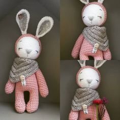 If you want a small sleeping bunny you have to mix the pattern of @amalou.designs  #crochetlove #knittinglover #knittinglove #amigurumidoll ##rabbits #present #handmade #marleensmadeforyou #diy #crochetwithlove #hasen #crochet #häkelnisttoll
