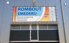 PVC-doek voor Smederij Rombout, exclusieve uitstraling verzekerd!