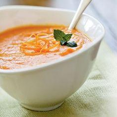 Ricetta zuppa di carote allo zenzero