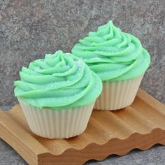 Lime Coconut Bakery Cupcake Soap