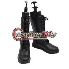 Adult Men's Shoes Boots Final Fantasy XIII Noctis Lucis Caelum Black Boots Shoes Cosplay Accessories Custom Made Mens Shoes Boots, Men's Boots, Black Boots, Shoe Boots, Noctis, Final Fantasy, Rubber Rain Boots, Cosplay, Stuff To Buy