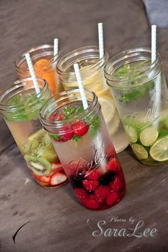 Sweet Little Gals: Fruit Flavored Water