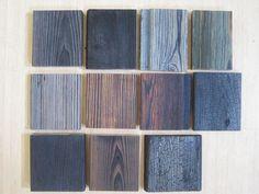 Burnt cedar http://pursuingwabi.com/2007/11/05/shou-sugi-ban/