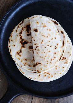 Paleo flour tortillas!