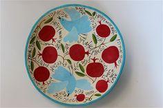 paper mache bowl happy new year 50 cm wide