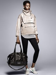 fb61f8b970ce7 adidas by Stella McCartney Autumn Winter 2015 Stella Mccartney Adidas, Gym  Bag, Active Wear