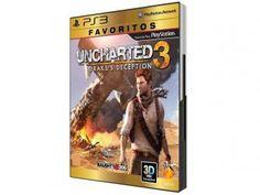Uncharted 3: Drakes Deception para PS3 - Coleção Favoritos - Sony