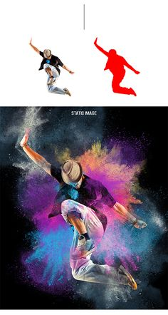 Animated Color Dust Photoshop #Actions #PSAction #Photoshop #PS #Graphicriver #PhotoEffects #Digitalart #Design #art #inspiration #paint #painting #watercolor #ink #dance #activity #color #street Color Photoshop, Photoshop Images, Photoshop For Photographers, Photoshop Design, Photoshop Photography, Dance Photography, Photoshop Tutorial, Photoshop Actions, Lightroom